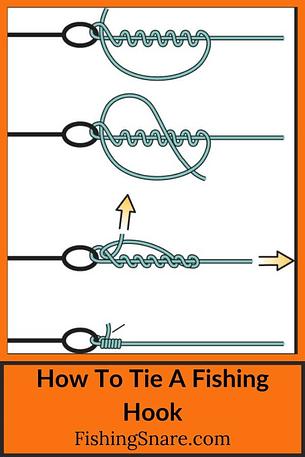 Tie A Fishing Hook