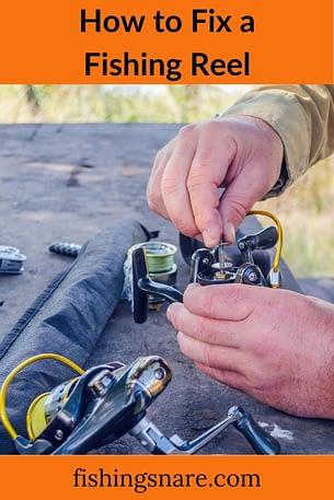 repair a fishing reel