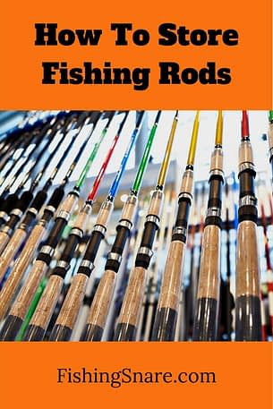 store fishing rods