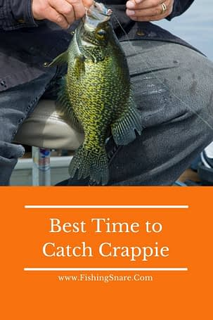 Crappie fishing time
