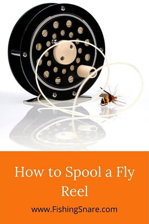Spool a Fly Reel