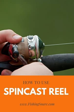 How to use a spincast reel